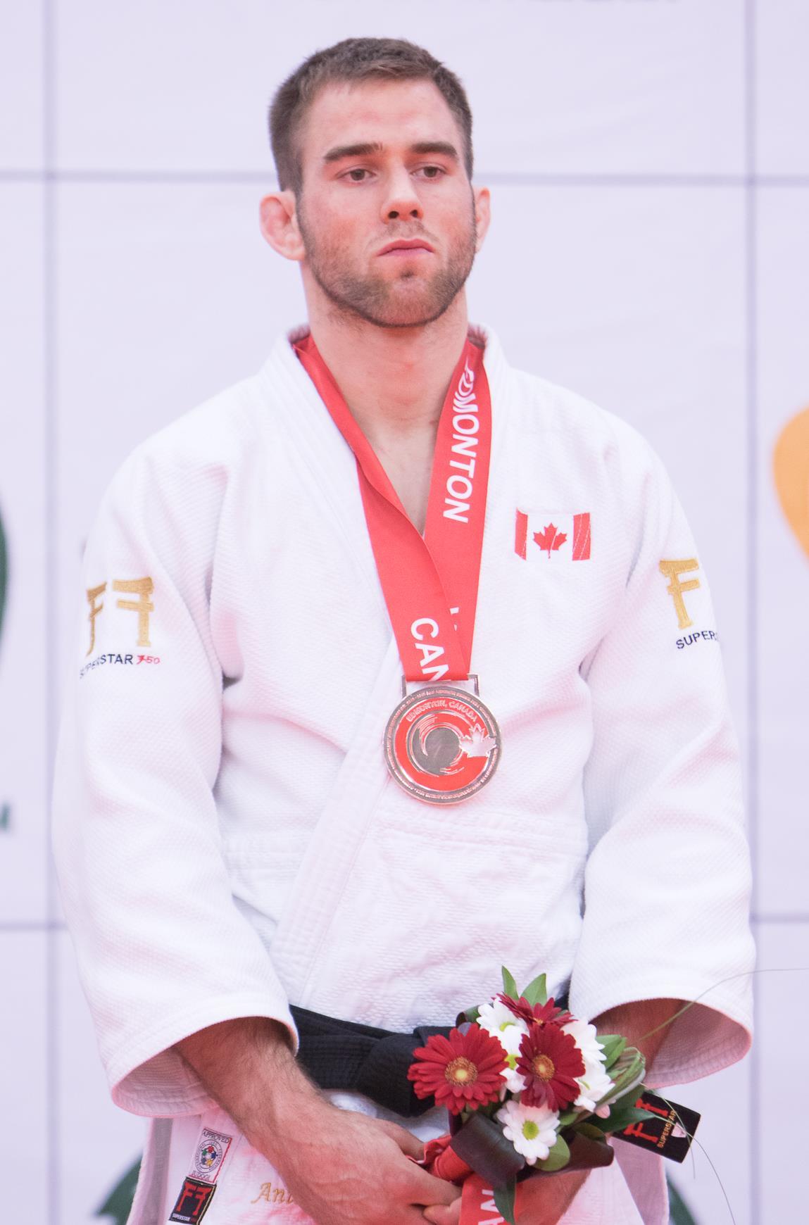 Antoine Valois-Fortier judoka Jeux Olympiques de Londres 2012